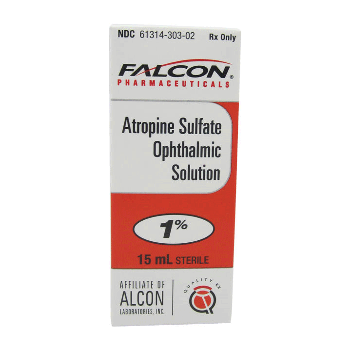 Atropine Sulfate 1% Ophthalmic Solution 5mL