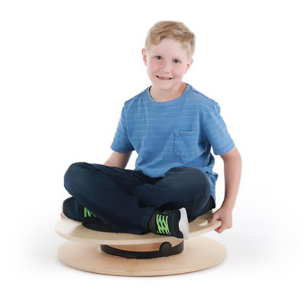 """TherapyWide 24"""" 3-D Rotational Balance Trainer with Variable Tilt"""