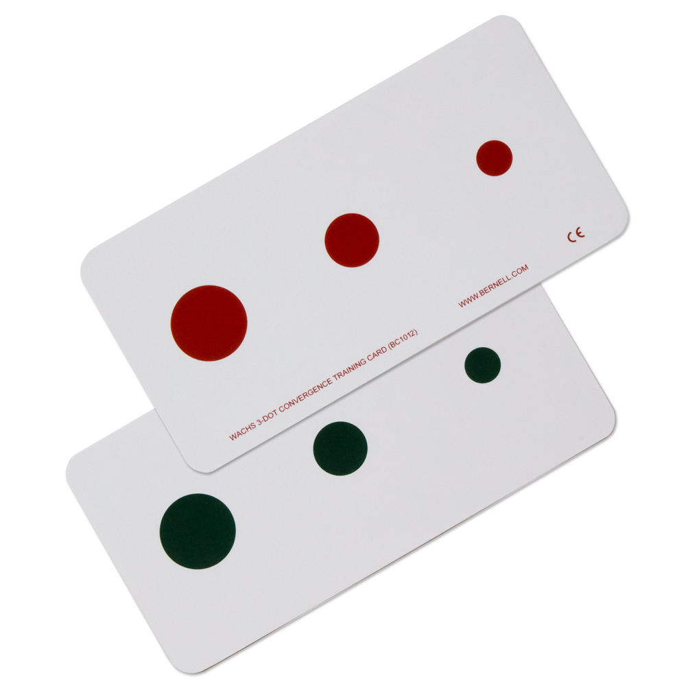 Wach's 3-Dot Convergence Training Card (Package of 10)