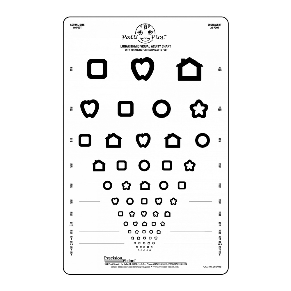 Patti Pics 13 lines Translucent Chart