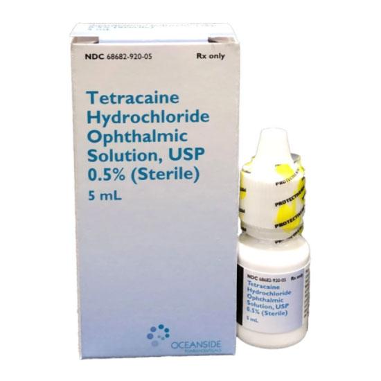 Tetracaine HCl 0.5% Ophthalmic Solution - 5mL