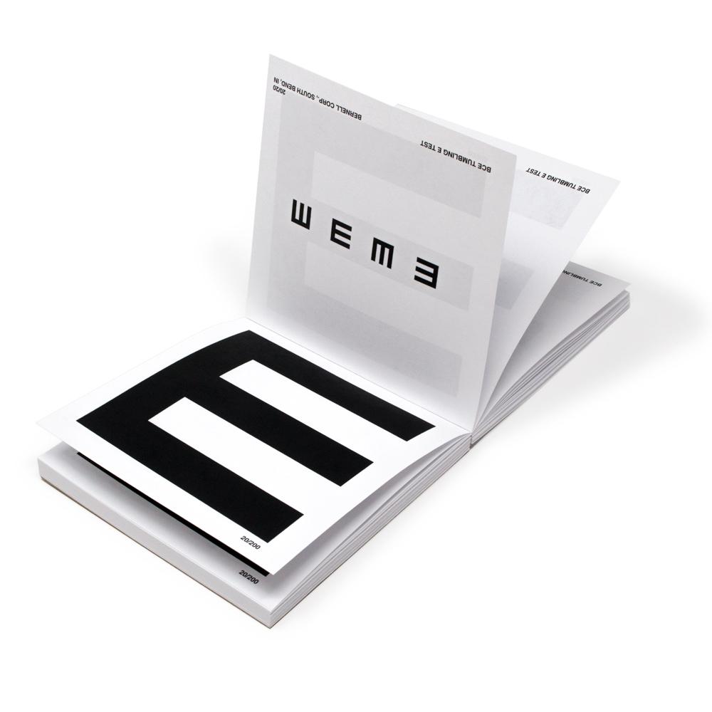 Tumbling E Pad (Pad of 100)