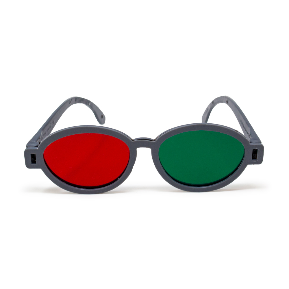 Modern Model - Red/Green Goggles (Single Pair)