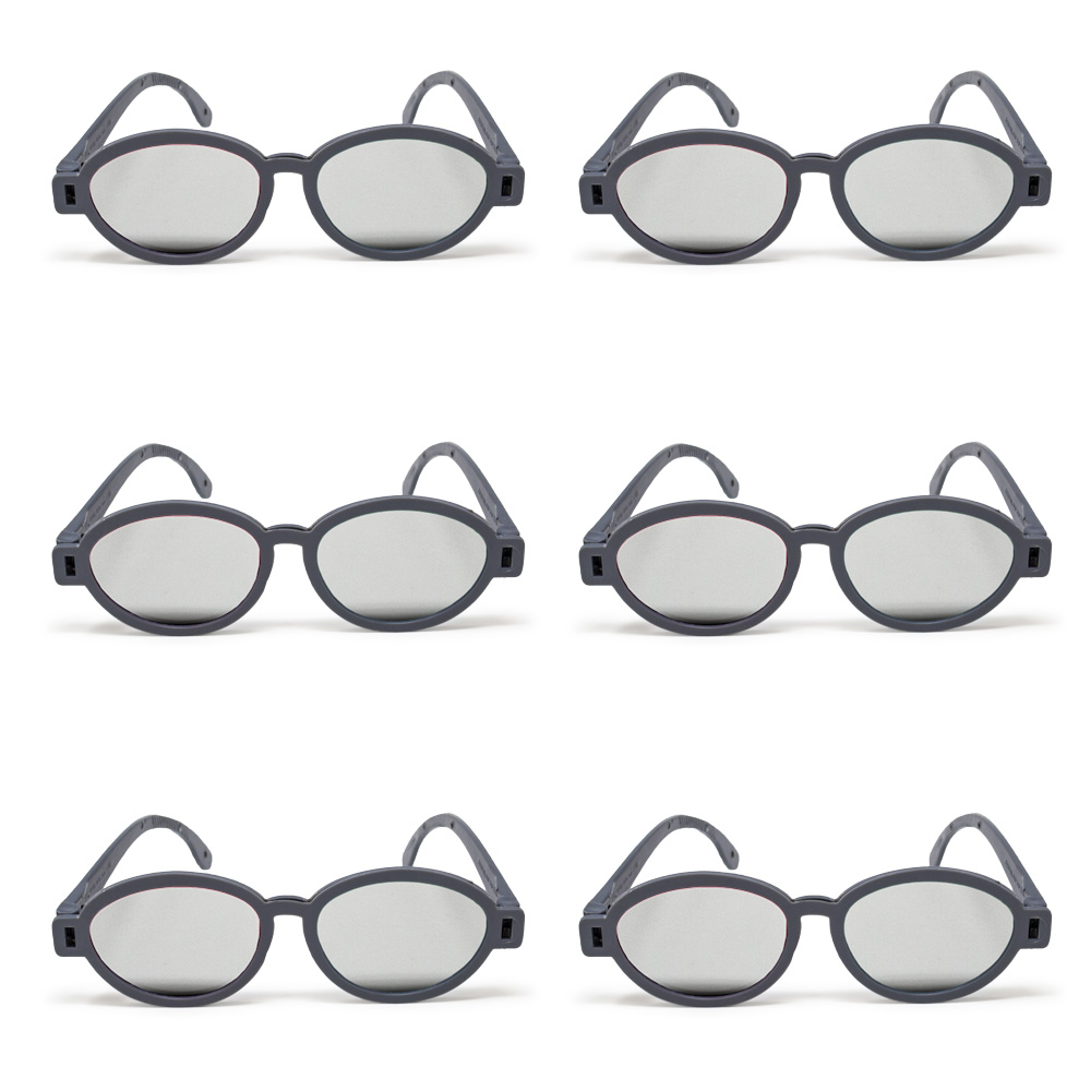 Modern Model - Polarized Goggles (Pkg. of 6)