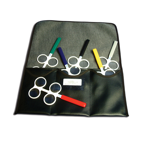 Corrected Curved Prism Flippers - Set of 6