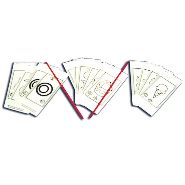 Single Oblique Stereoscope™/Cheiroscope (8 Card Replacement Set)