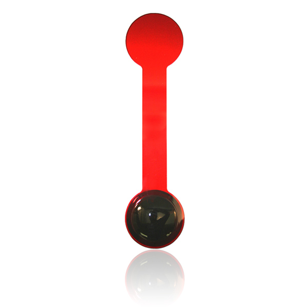 Double End Occluder - Plain Black & Red