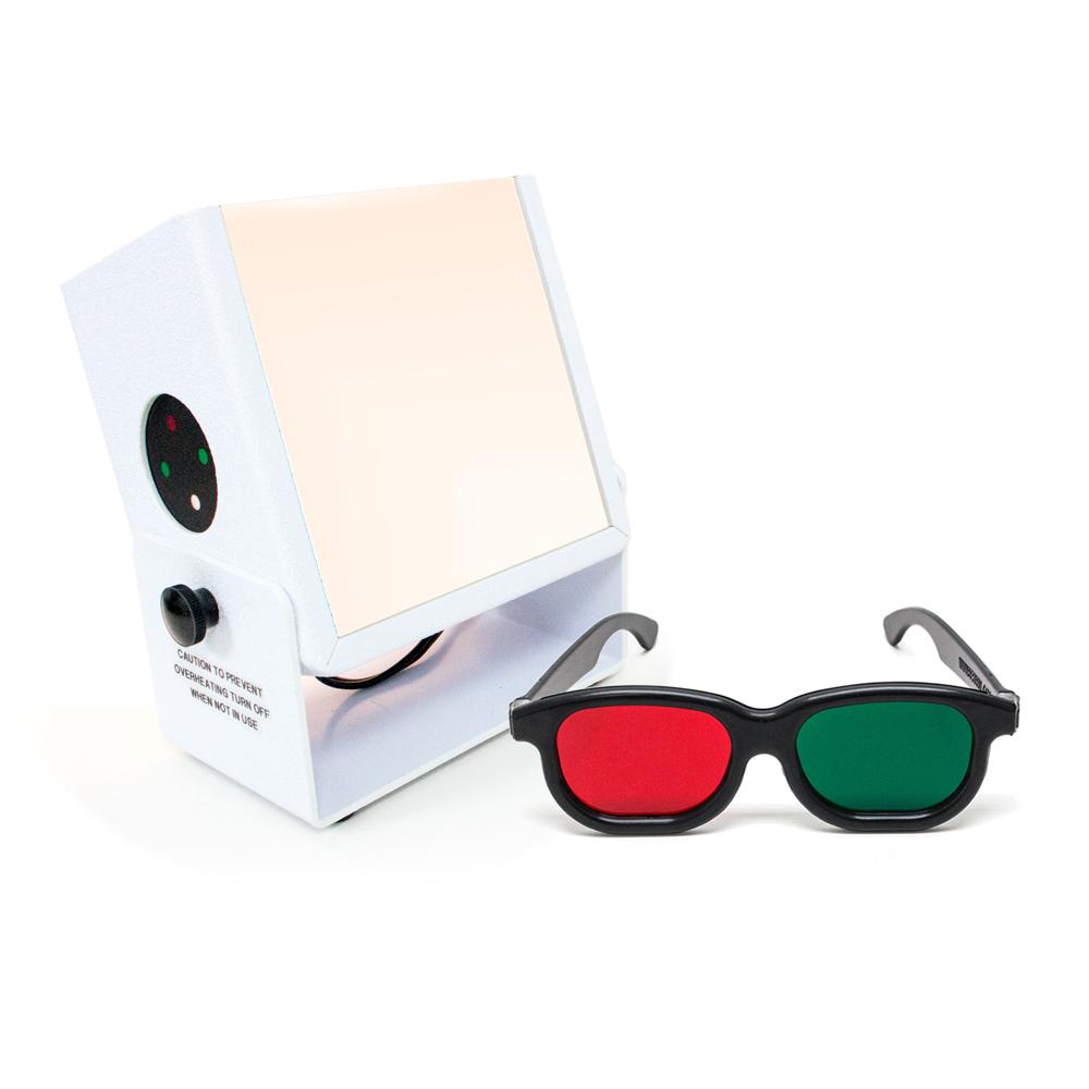 Test Lantern™ with Built-in Worth 4-Dot & Slides - Test Lantern™ with Built-in Worth 4-Dot (Slides Sold Separately)