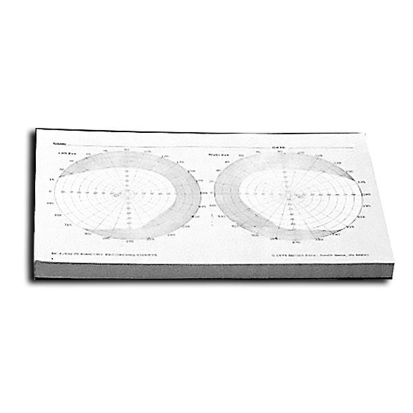 Hand Disc Perimeter - Recording Charts (Pkg. of 100)