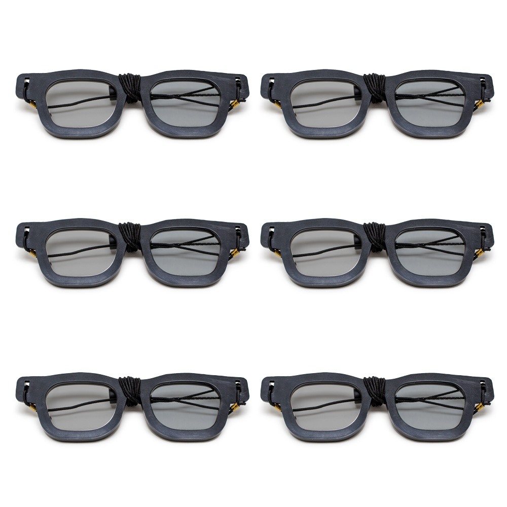Original Bernell Model - Polarized Goggles with Elastic (Pkg. of 6)