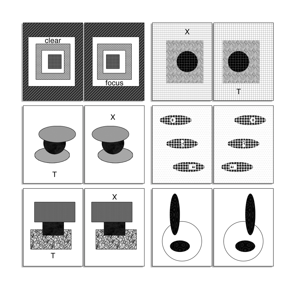 (12) Black/White Card Set
