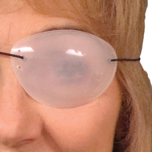 Flexible Translucent Eyepatches