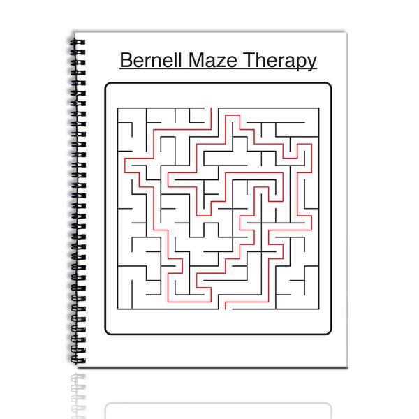 Black/White Maze Book