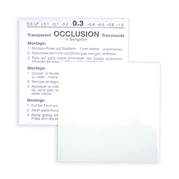 Bangerter Occlusion Foils (Sold Individually)