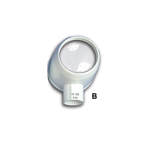 (B) LED MAGNIFIER (HEAD ONLY) (3.9x;  11.7D   Lens 58mm)