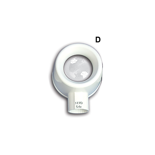 (D) LED MAGNIFIER (HEAD ONLY) (5.4x;  17.7D)