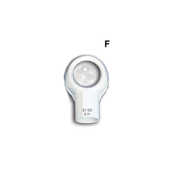 (F) LED MAGNIFIER (HEAD ONLY) (8.7x;  31.0D)