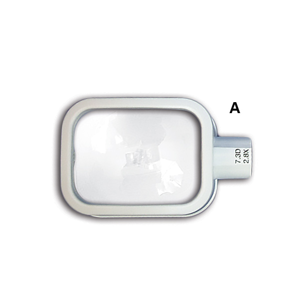 (A) LED MAGNIFIER (HEAD ONLY) (2.8x;  7.3D)