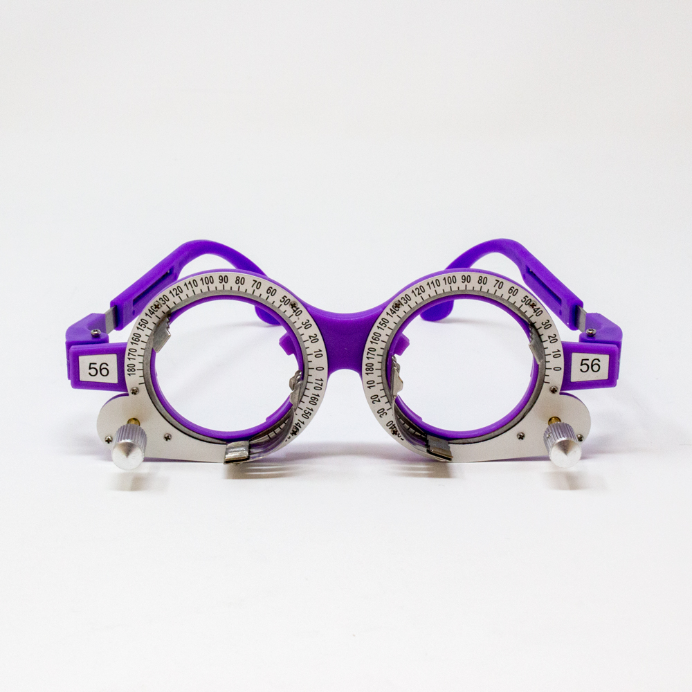 Adult Adjustable Axis Trial Frame - 56PD (Color: Purple)