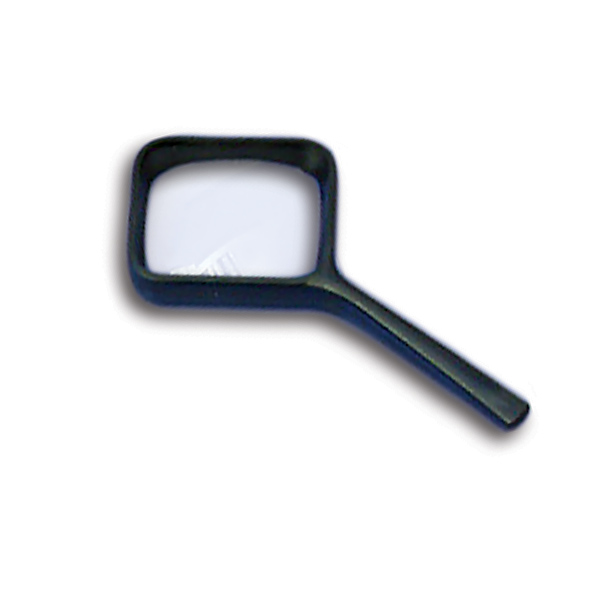 F. Coil Small Hand Reader Magnifier (3.5x Magnification) 64mm x 52mm Lens