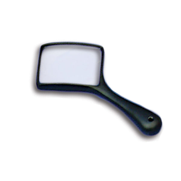 E. Coil Minor Reader Magnifier (2.5x  Magnification) 80mm x 62mm Lens