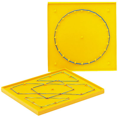 Plastic Double Sided Geoboard