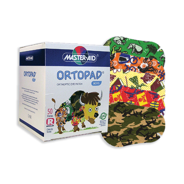Ortopad® for Boys - Regular Size - Box of 50