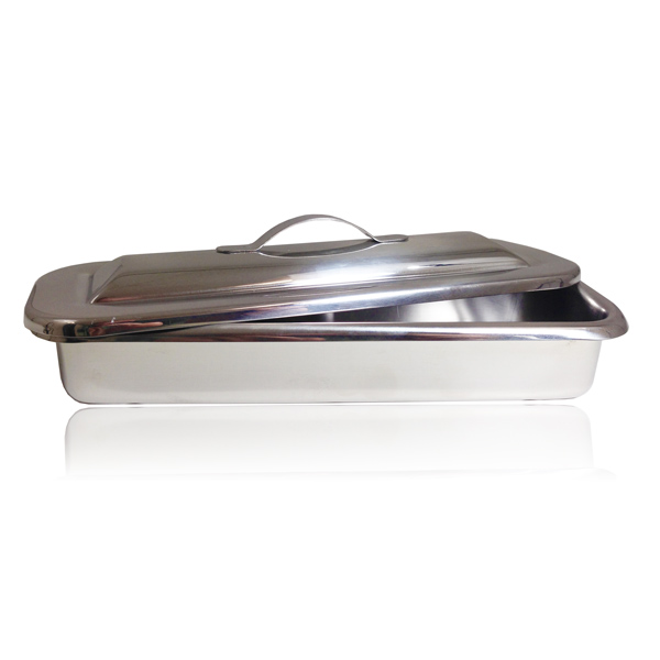 Stainless Steel Instrument Tray (with Cover)