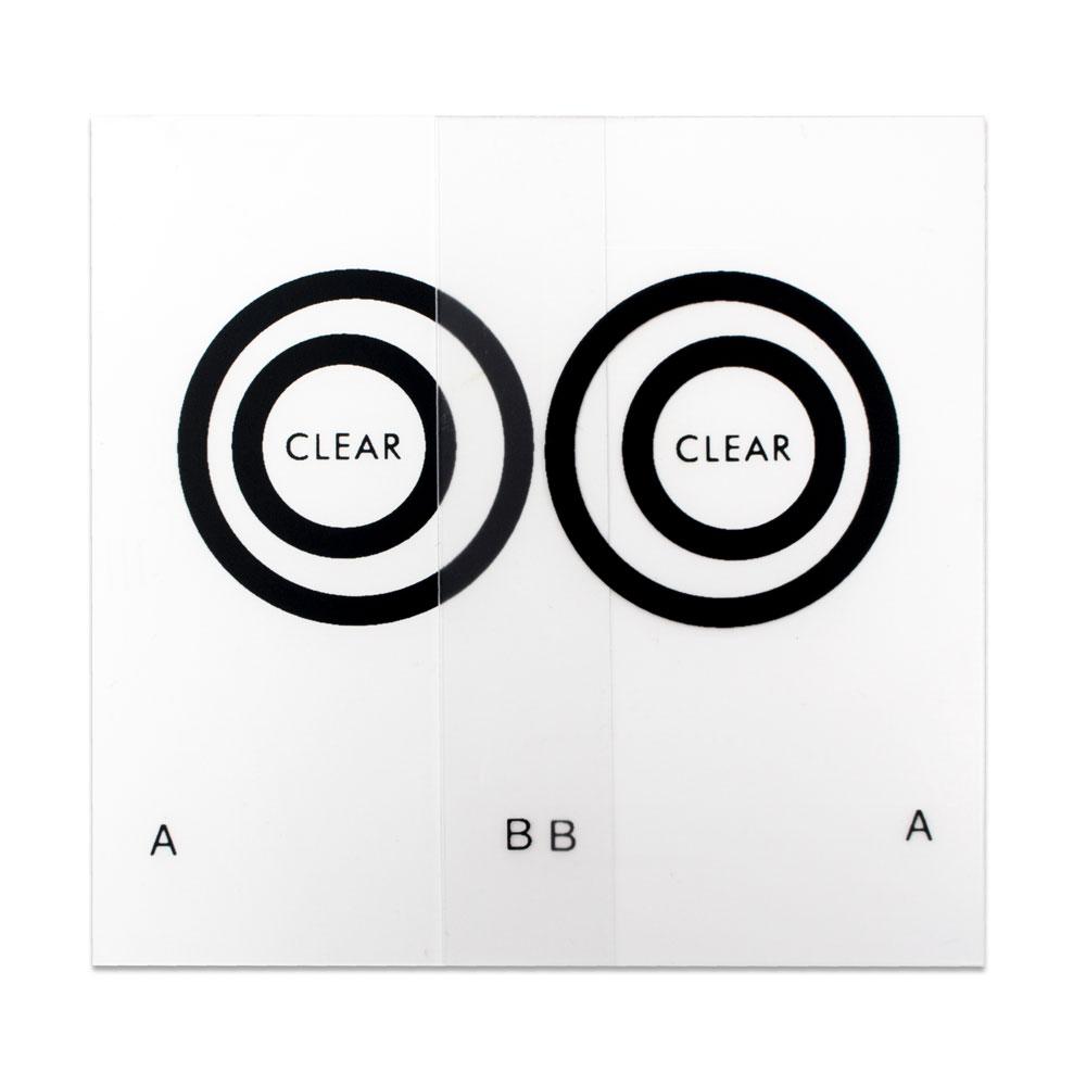 Keystone Eccentric Circles - Keystone Eccentric Circles (Clear) - 10 Pair