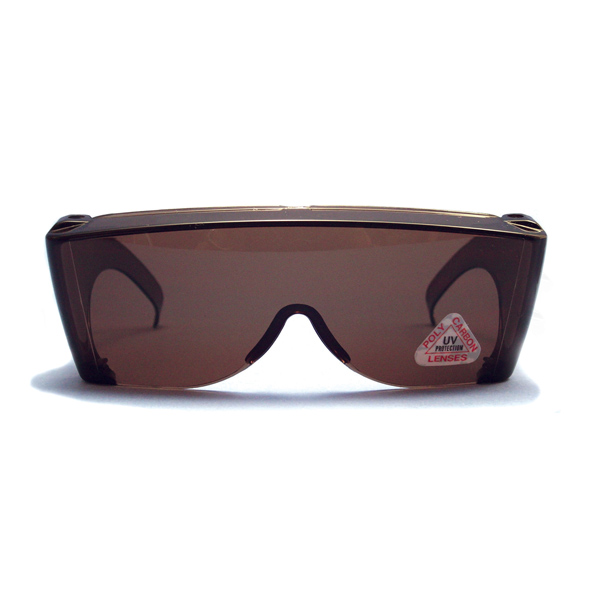SunWraps Goggles (Regular) - Brown Amber