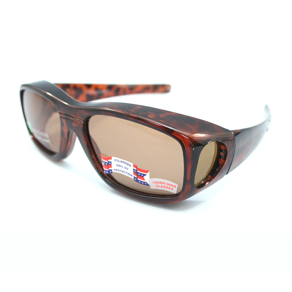 SunWraps Goggles (Polarized) - Brown Amber