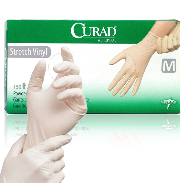 Latex-Free Gloves - Non-Chlorinated; Non-Powdered (Box of 100)