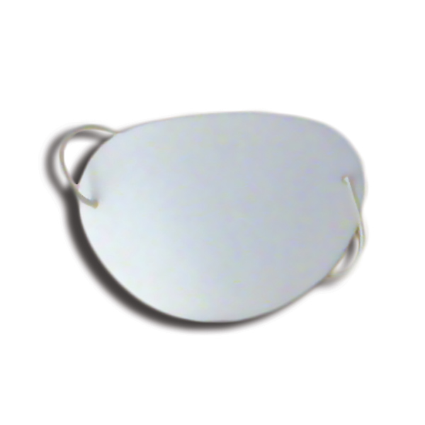 Eye Shields with Foam (Large) - Color: White (Pkg. of 12)