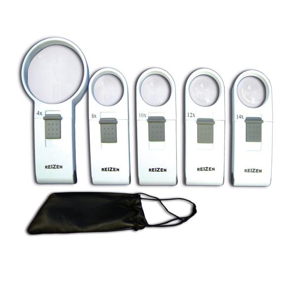 Reizen Pocket LED Magnifiers