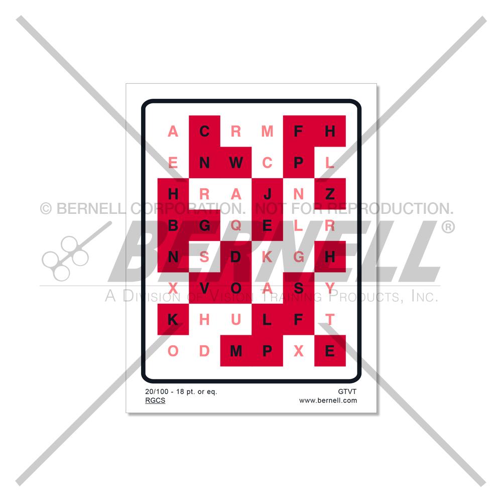 Anti-Suppression Chart (18pt print)