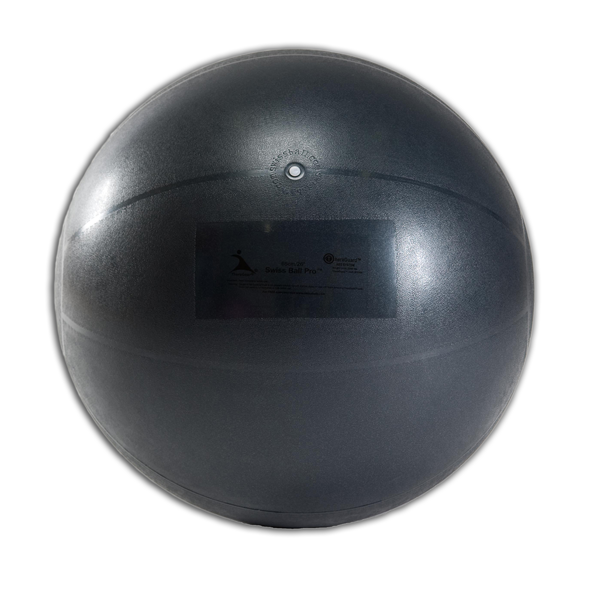 """26"""" Inflatable Pro Series Therapy Ball - Black"""