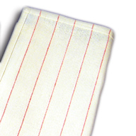 """Glass Cotton Towels with Red Stripes (16"""" x  28"""") Sold by the Dozen"""