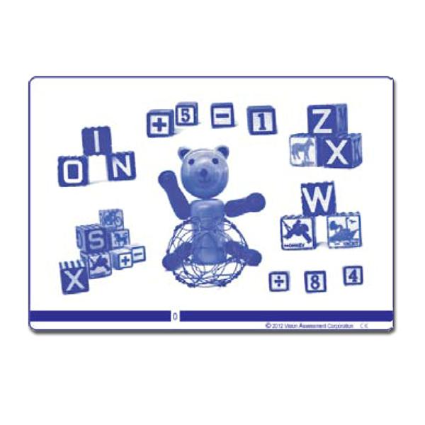 Teddy Bear Polarized Variable Vectograph