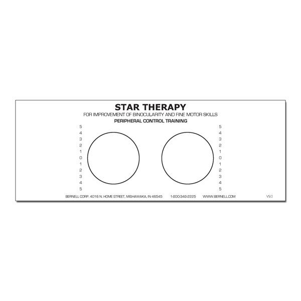(B) Star Projection Forms (Pads of 100) Peripheral Control