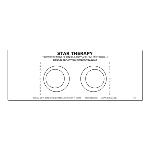 (D) Star Projection Forms (Pads of 100) Base-In Stereo
