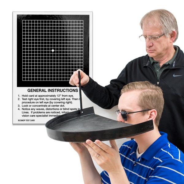Field & Macular Degeneration Tests