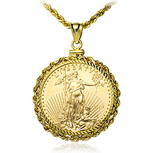 1/2 oz American Gold Eagle Coin Bezels