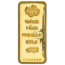 1 Kilo Gold Bars