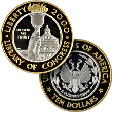 $10.00 Gold Commemoratives