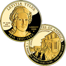 2009 First Spouse - Letitia Tyler