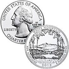 2013 America The Beautiful (ATB) 5 oz Silver Coins