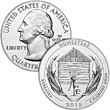 2015 America The Beautiful (ATB) 5 oz Silver Coins