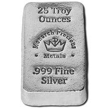 25 oz Silver Bars