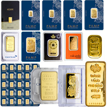 View All Gold Bars