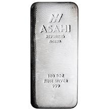 Asahi Refining Silver Bars